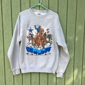 Vintage Dallas Cowboys Grey Sweatshirt 1996   USA